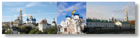 Golden Ring of Russia: Sergiev Posad Bus Tour